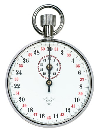 P-38, Diamond Mechanical Stopwatch With Multiple Finctions