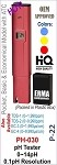 Erma Pocket Size pH Meter /Mini Water Quality Tester, pH 0-14.0 Measuring Range, 0.1pH Resolution (Red)